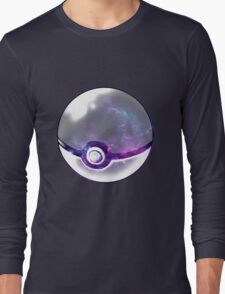 Galaxy Pokeball. Long Sleeve T-Shirt