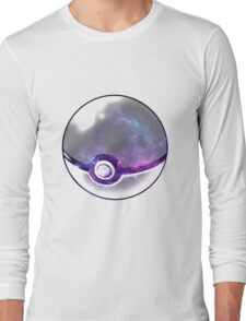 Galaxy Pokeball. Long Sleeve T-Shirt