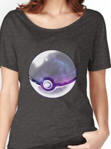 Galaxy Pokeball. Women's Relaxed Fit T-Shirt