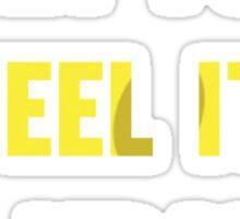 Can you feel it Mr. Krabs? Sticker