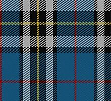 02738 Thomson Dress (Blue) Clan/Family Tartan Fabric Print Iphone Case by Detnecs2013