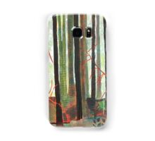 Embroidered Forest, mixed media and zentangles Samsung Galaxy Case/Skin
