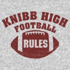 Knibb High Football by Gingerbredmanny