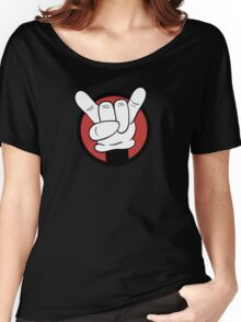 Metal Mouse  Women's Relaxed Fit T-Shirt