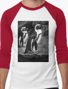 Penguin Tee/Hoodie Men's Baseball ¾ T-Shirt
