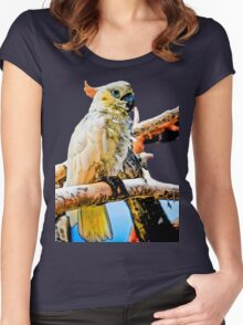 Bird Shirt/Hoodie/Sticker Women's Fitted Scoop T-Shirt