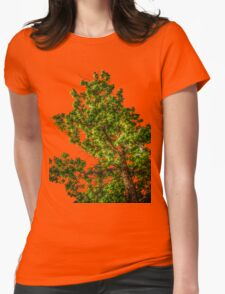 Tree Tee/Hoodie Womens Fitted T-Shirt