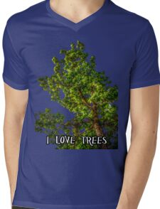 I love trees Tee/Hoodie Mens V-Neck T-Shirt