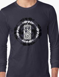 Circle of timey wimey Long Sleeve T-Shirt