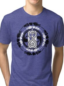 Circle of timey wimey Tri-blend T-Shirt