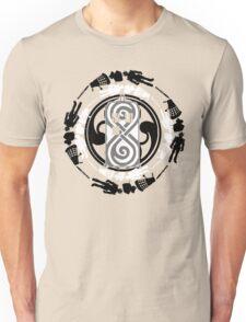 Circle of timey wimey Unisex T-Shirt