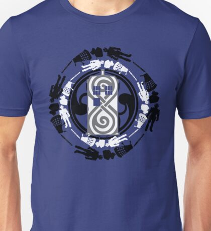 Circle of timey wimey Unisex T-Shirt