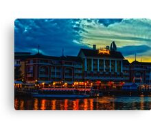 Disney's Boardwalk Resort High Dynamic Range Canvas Print