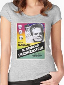 The Bride of Frankenstein Women's Fitted Scoop T-Shirt