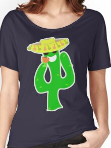Party On Party Cactus Women's Relaxed Fit T-Shirt