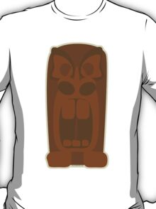 Angry Tiki God T-Shirt