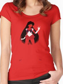 Sailor Mars Women's Fitted Scoop T-Shirt
