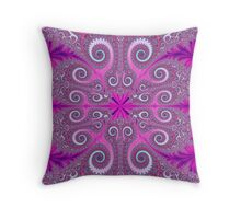 Showgirl Feathers Throw Pillow