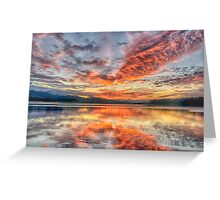 It Can Be Magic - Narrabeen Lakes NSW - The HDR Experience Greeting Card