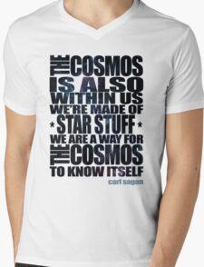 STAR STUFF Mens V-Neck T-Shirt