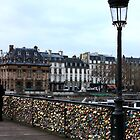 Lovers Bridge- Paris by HollieNewman