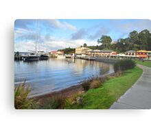 The Town Of Strahan. Metal Print