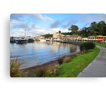 The Town Of Strahan. Canvas Print