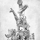 The Clockwork Menagerie (Silver) by Eric Fan