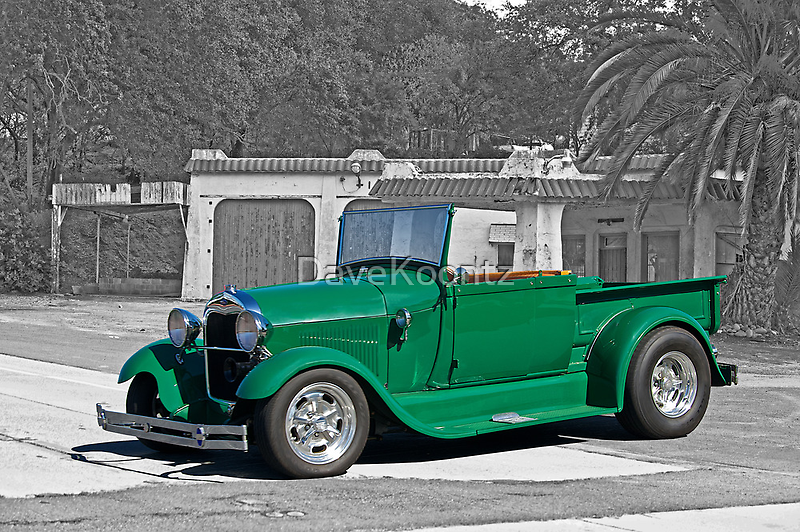 1929 Ford Model A Roadster Pick-UP by DaveKoontz