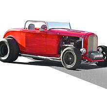 1932 Ford 'Little Red' Roadster by DaveKoontz