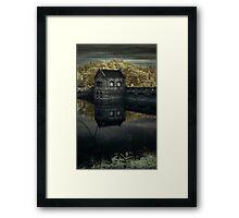 Lake Scranton Dam Framed Print