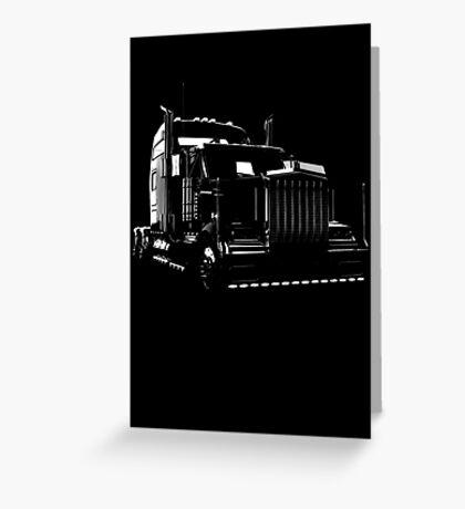 Super Semi Truck Greeting Card