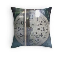 Tick Tock Throw Pillow