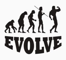 Evolution to Body Builder by BelfastBoy