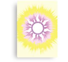 A Tangled Sunburst Canvas Print