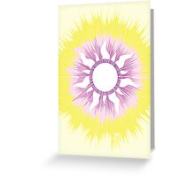 A Tangled Sunburst Greeting Card