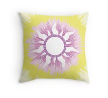 A Tangled Sunburst Throw Pillow