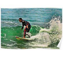 Surfer II Poster