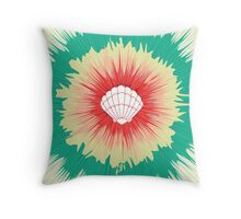 Mermaid Sunburst Throw Pillow