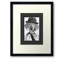 Haha i am Charlie Chaplin Framed Print