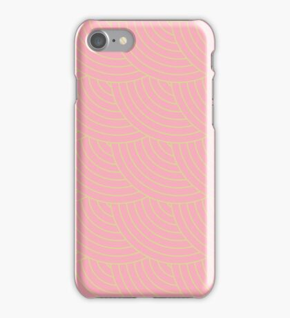 Pink Fish Scale Pattern iPhone Case/Skin