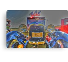 Old Patriot Metal Print