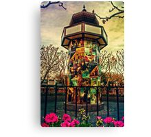 France Pavilion High Dynamic Range Canvas Print