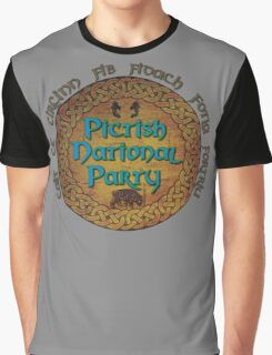 Pictish National Party Graphic T-Shirt