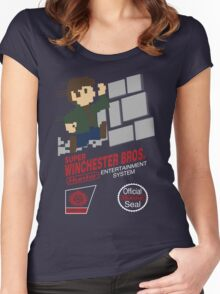 Super Winchester Bros Women's Fitted Scoop T-Shirt