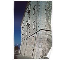 Wall of Monte Cassino 19840319 0008 Poster