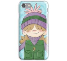 Snow Kid iPhone Case/Skin