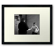 Di and Shane Framed Print