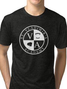 St. Vladimir's (Vampire) Academy (dark-based) Tri-blend T-Shirt