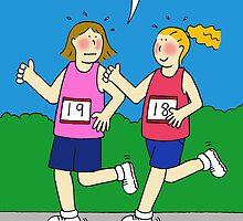 Running encouragement for women. by KateTaylor